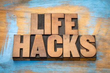 Four Life Hacks for Healthy Living